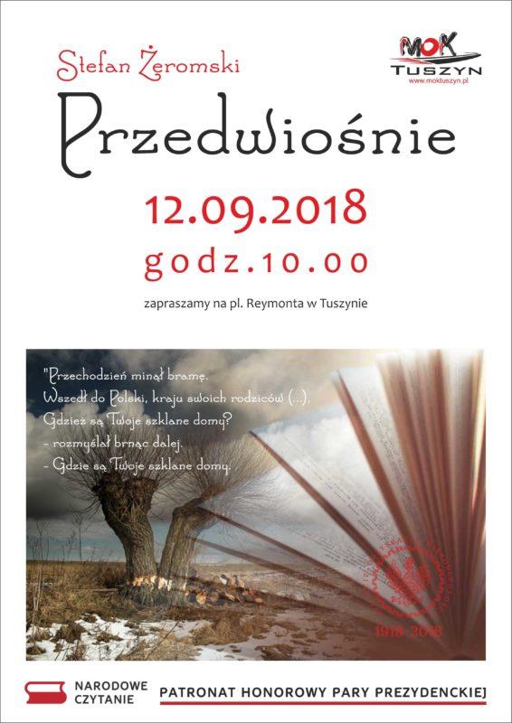 Narodowe Czytanie w Tuszynie @ Plac Reymonta