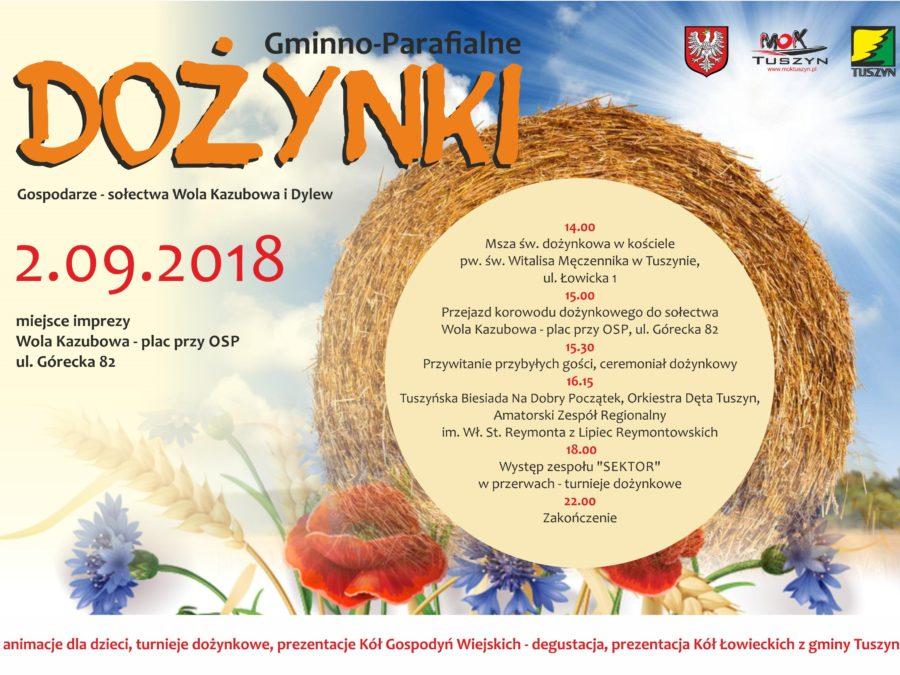 Dożynki Parafialno-Gminne w Tuszynie @ Plac przy OSP