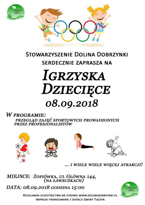 Igrzyska Dziecięce @ ul.Główna 144