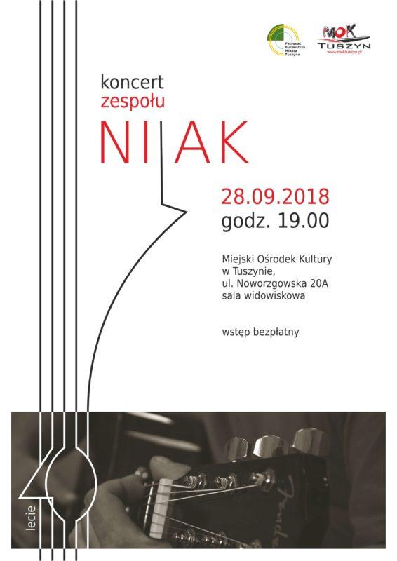 """40- lecie Zespołu """"NIJAK"""" @ Noworzgowska 20A"""