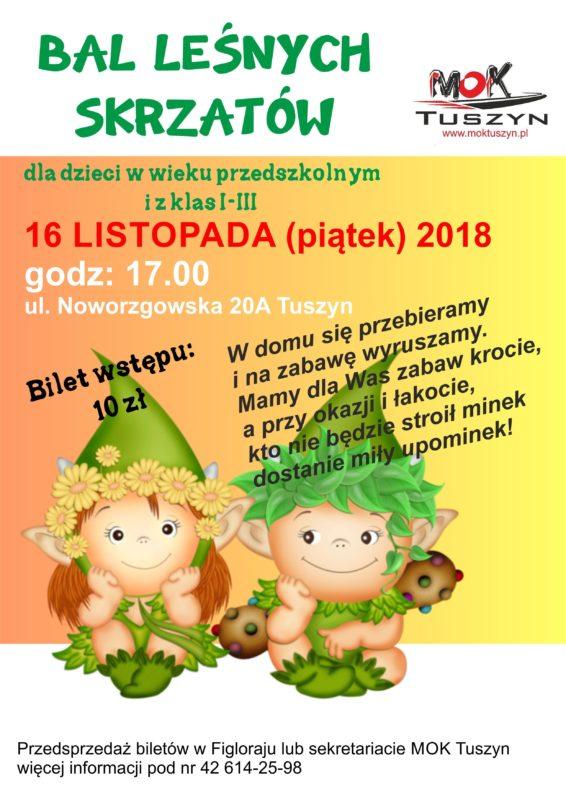 BAL LEŚNYCH SKRZATÓW @ Noworzgowska 20A