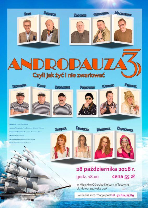 Andropauza 3 Czyli jak żyć i nie zwariować @ ul.Noworzgowska 20A