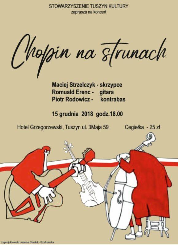 """Koncert """"Chopin na strunach"""" @ Hotel Grzegorzewski"""