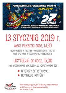 27 FINAŁ WOŚP @ Noworzgowska 20 A