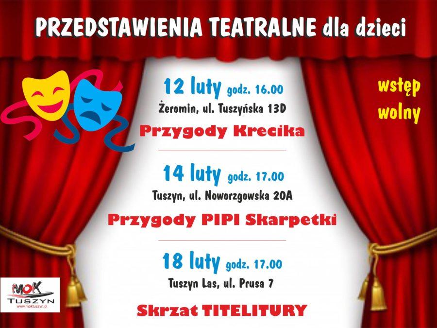 """Przedstawienie Teatralne dla dzieci pt: """"Przygody Krecika"""" @ Tuszyńska 13D"""