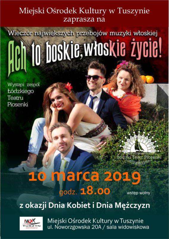 Koncert z okazji Dnia Kobiet i Mężczyzn @ Noworzgowska 20A