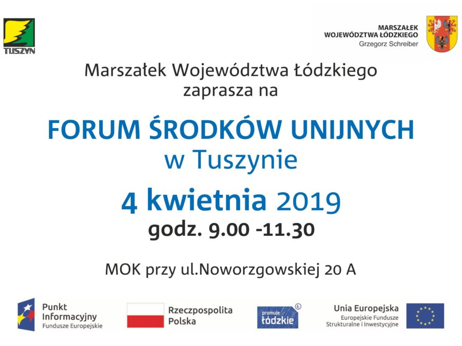 Forum Środków Unijnych @ Noworzgowska 20A
