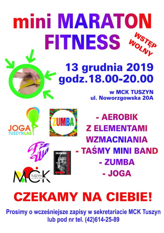 Mini Maraton Fitness @ Noworzgowska 20A