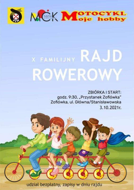 X Familijny Rajd Rowerowy @ ul. Stanisławowska ( Przystanek Zofiówka)